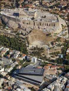 acropolis-museum-athens-Bernard-Tschumi-aerial